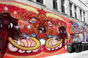 Ann Arbor 12 - Mural by AaronMk