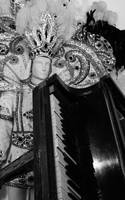 Fats Domino's Steinway and Mardi Gras outfit by AaronMk