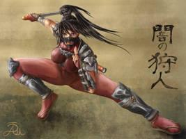 Hunter of Darkness (Taki) by ashtender