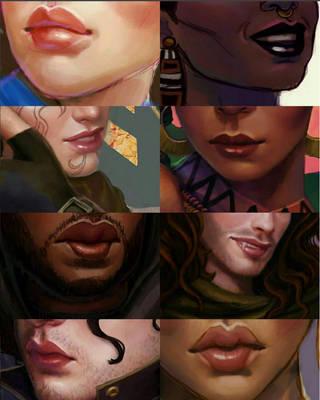 lip meme by ChelseaGeter