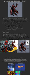 My Coloring Guide to Color Like a Boss by kasigawa