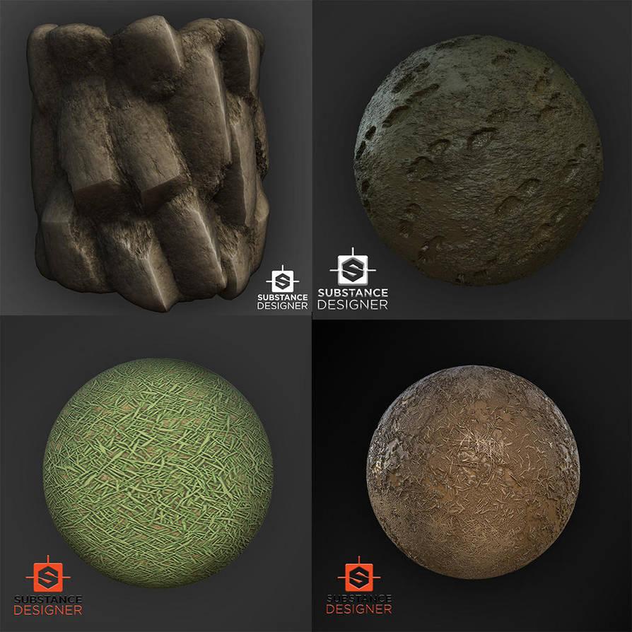 Substance Materials by kasigawa
