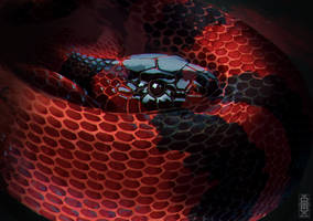 Honduran Milksnake by Eden-West