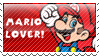 .~Mario Stamp~. by ThePinkMarioPrincess