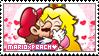 .~MarioxPeach Stamp~. by ThePinkMarioPrincess