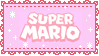 .~Pink Super Mario stamp~. by ThePinkMarioPrincess