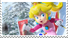 .~Winter Peach stamp~. by ThePinkMarioPrincess