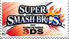 .~Super Smash Bros. for 3DS stamp~. by ThePinkMarioPrincess