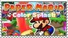 .~Paper Mario: Color Splash Stamp~. by ThePinkMarioPrincess
