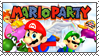 .~Mario Party Stamp~. by ThePinkMarioPrincess