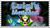 .~Luigi's Mansion Stamp~. by ThePinkMarioPrincess