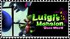 .~Luigi's Mansion: Dark Moon Stamp~. by ThePinkMarioPrincess