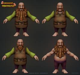 Dwarf Variants by raffael