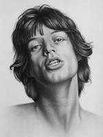 Mick Jagger by markstewart