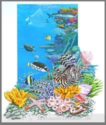 Coral reef by markstewart