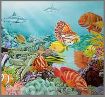 reef scene by markstewart