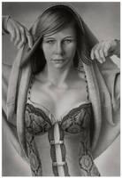 Katya in graphite by markstewart