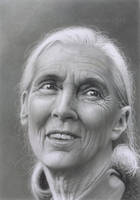 Jane Goodall by markstewart