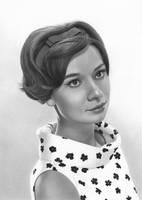 Audrey Hepburn by markstewart