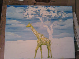 stage1 - Giraffe and Landscape by monana349