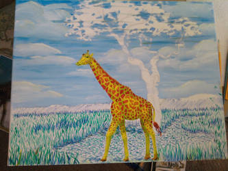 stage2 - Giraffe and Landscape by monana349