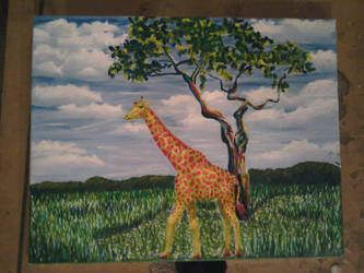 stage3 - Giraffe and Landscape by monana349