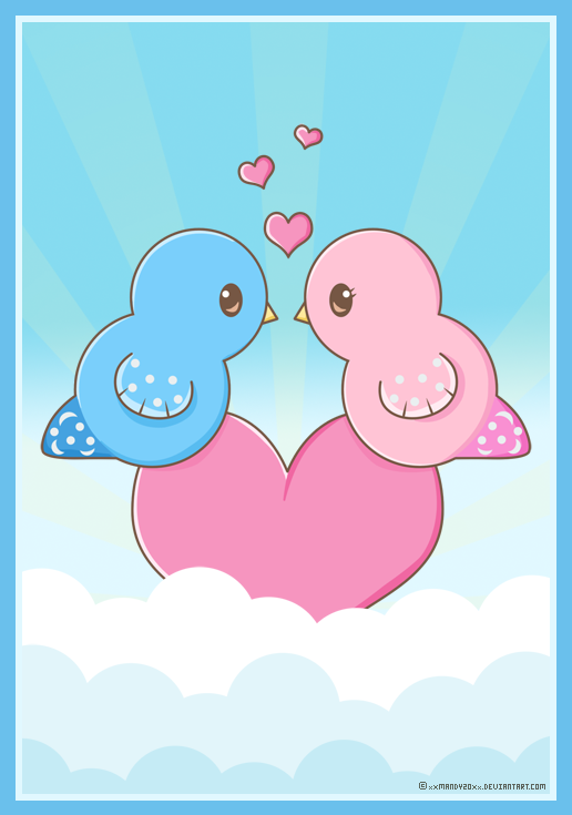 Little Love Birds by xXMandy20Xx