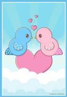 Little Love Birds by xXMandy20Xx