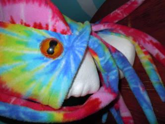 acid squid hat resin eyes by Rayzerwolf