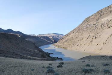 Fraser River Base Camp by Rayzerwolf