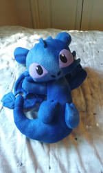 Night Fury Plush by HavocWraith