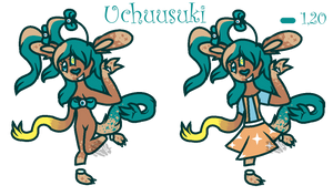 Uchuusuki the Boontulare - Ref Sheet by xLuc-1