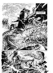 Punisher in the Savage Land by GaryKwapisz