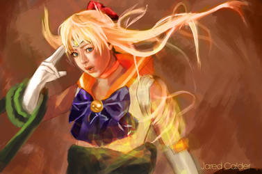 Death of Sailor Venus by Kodachi-sama