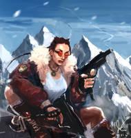 Lara Croft, Tomb Raider by Kodachi-sama