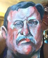 Teddy Roosevelt by ckrickett