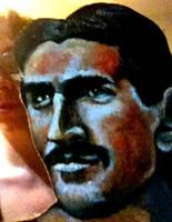 Nikola Tesla Mask by ckrickett
