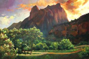 landscape study 1 by kweenofklubs