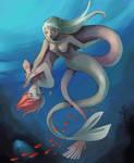 underwater love by JigokuNeko