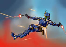 Commission Bare Squadron Jemini Armored by Shane-Emeraldwing