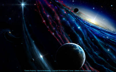 Cosmic Prophecy ~  Eternal Manifestation by AstroBoy1