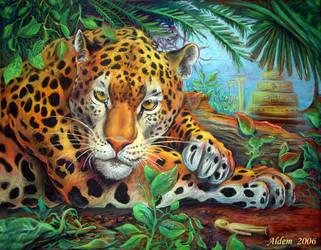 Jaguar's lair by CalciteMink1610