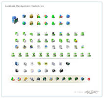 some toolbar icons by songofelf