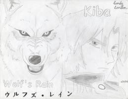 Wolf's Rain: Kiba by Dragonfly224