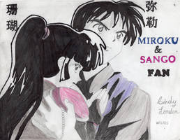 I'm a Miroku and Sango Fan by Dragonfly224