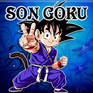 Kid Son Goku Icon by Dragonfly224