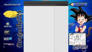 Son Goku Youtube Background Dragonfly224 by Dragonfly224