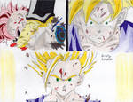 Son Gohan Ascends To SSJ2 by Dragonfly224
