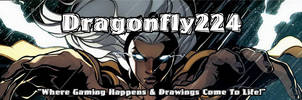X-men STORM Youtube 2013 Banner[Dragonfly] by Dragonfly224