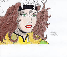 X-men's Rogue (90's Version) by Dragonfly224